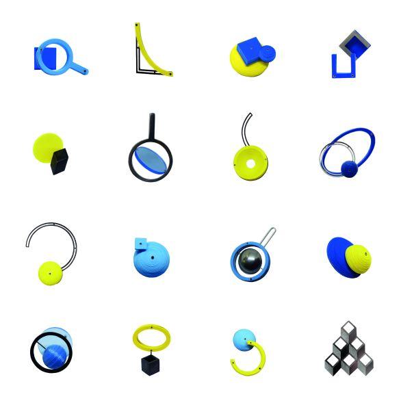 4x4 earrings